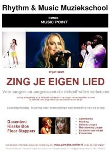 zingjeeigenlied poster